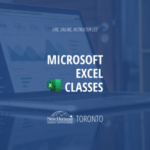 Keyboard lying on table - Live, online, instructor-LED, Microsoft Excel classes