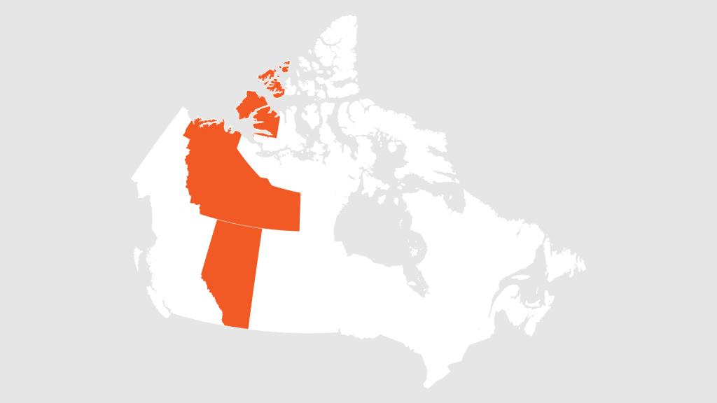 Alberta and the Northwest Territories