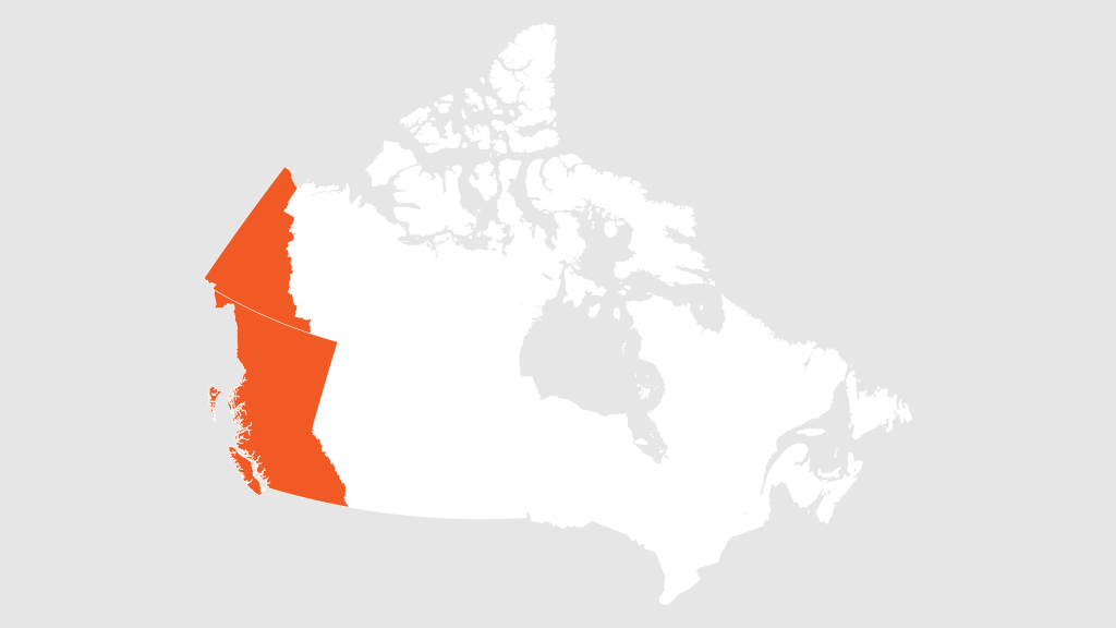 British Columbia and Yukon Territories