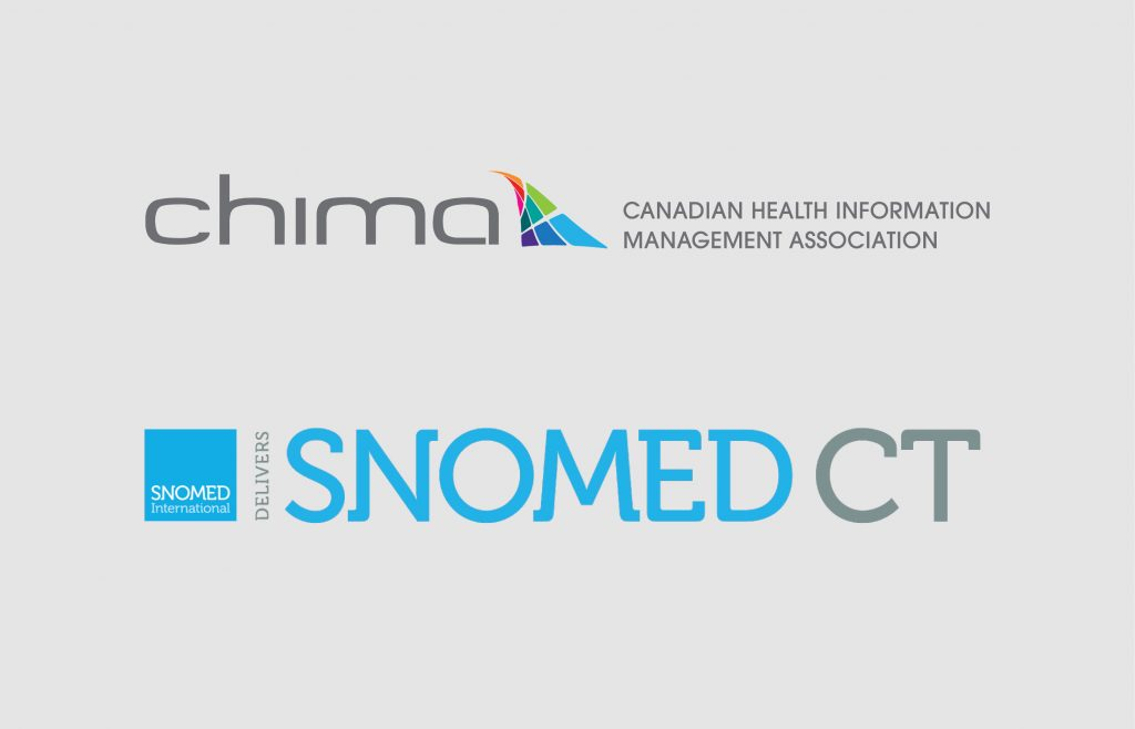 CHIMA and SNOMED International partnership banner