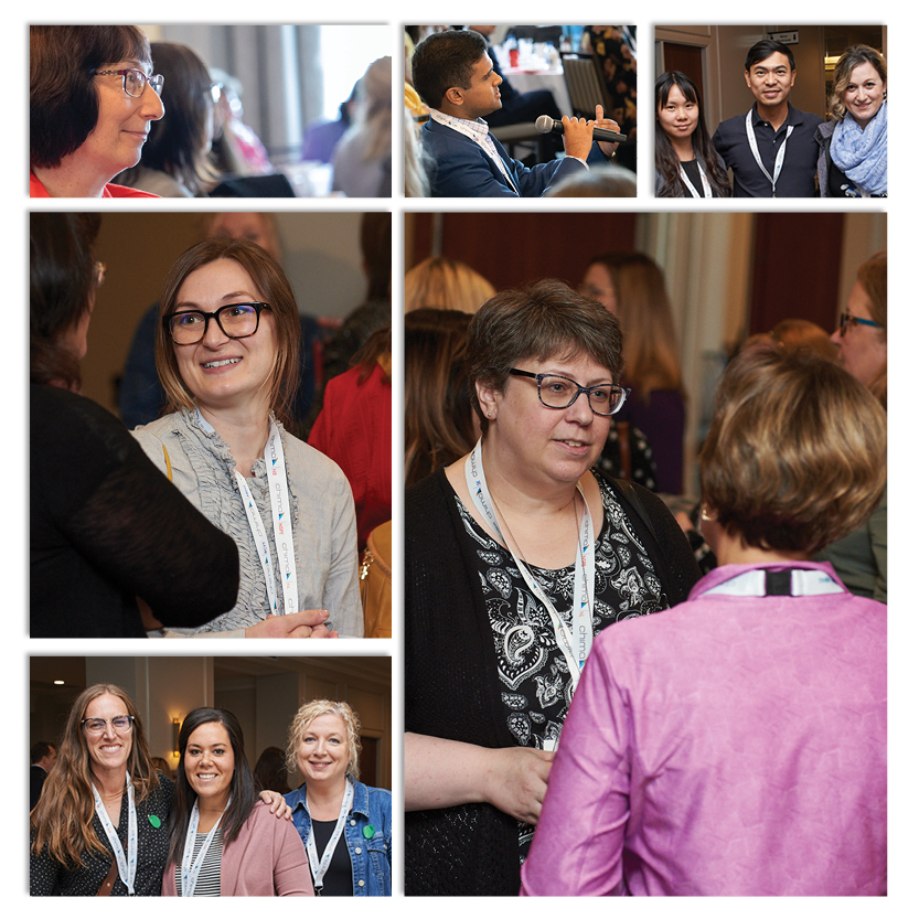 A collage of CHIMA member photos