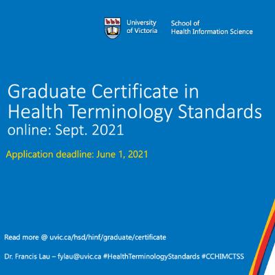 Certificate Health Terminology Standards