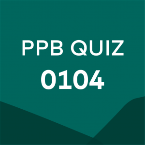 Product card for professional practice brief quiz 0104