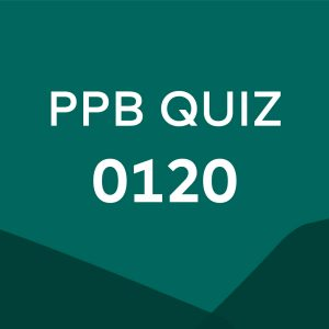 Product card for professional practice brief quiz 0120