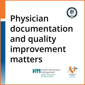 Physician documentation and quality improvement matters product card