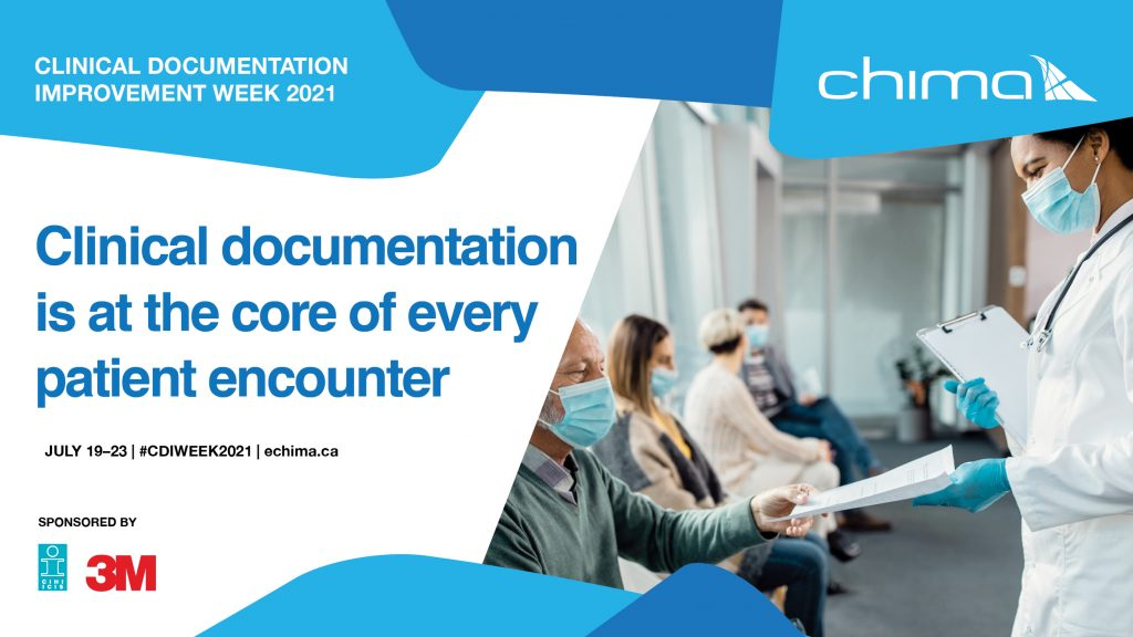 CHIMA I Clinical documentation banner