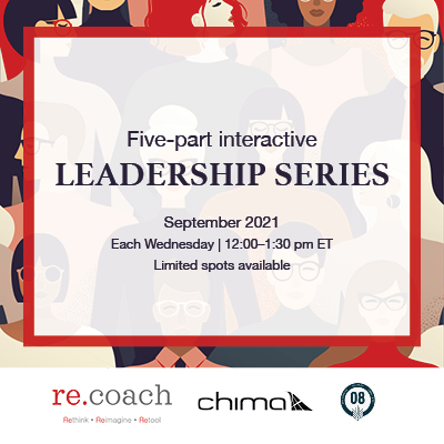 re.coach leadership series 2021 product card